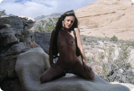brunette nude milf